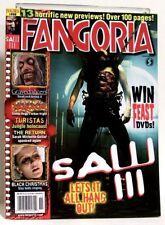 """FANGORIA"" Magazine Issue #258 (Nov, 2006) SAW 3, TURISTAS, BLACK CHRISTMAS"