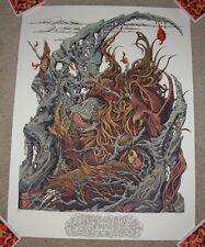 ANDREW AR GHRIST art poster print BALOO s/n silkscreen jungle book galerie f