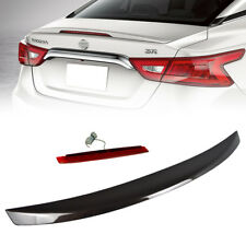 Stock in LA!ABS Painted CAT For Nissan Maxima A36 4DR OE-Type Rear Trunk Spoiler
