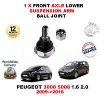 FOR PEUGEOT 3008 5008 1.6 2.0 2009-2016 1 X FRONT AXLE LOWER ARM BALL JOINT