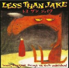 LESS THAN JAKE loses, kings, and things we don't understand (CD, compilation)