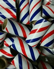 "25 NEW FIREWORKS KRAFT PYRO TUBES M100 Red/White/Blue 3/4"" x 2-1/8"" x 3/32"""