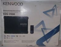 Kenwood KOS-V500 Advanced Integration A/V Controller. New.