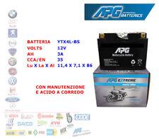 BATTERIA MOTO SCOOTER QUAD 12V 3A CCA-EN 35 YTX4L-BS APG EXTREME XETX4LBS