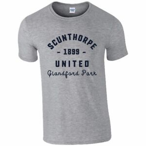 Scunthorpe United F.C - Personalised Mens T-Shirt (VINTAGE STADIUM)