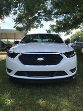 13-19 Ford Taurus / SHO headlight + drl light tint cover vinyl overlays smoked