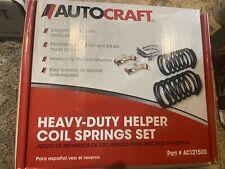 Heavy Duty Helper Coil Springs Sagging Rear Towing Hauling Rv Camper Ac121500