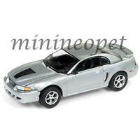 JOHNNY LIGHTNING JLSP029 A 1999 FORD MUSTANG GT 1/64 MODEL CAR SILVER