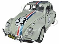 "ELITE 1963 VOLKSWAGEN BEETLE ""THE LOVE BUG"" HERBIE #53 1/18 BY HOTWHEELS BCJ94"