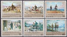 KOREA Pn. 1976 MNH** SC#1533/38 set, Revolutionary Activities.