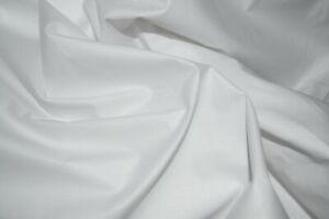 100 % Egyptian Plain Cotton Fabric 25m x 87cm