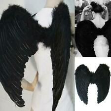 Adult Kids Feather Angel Fairy Wings Halloween Fancy Dress Costume Cosplay Party