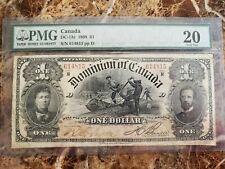 Dominion of Canada 1 Dollar bill DC-13c 1898
