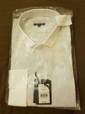 Jaeger Regular Fit Striped Button Cuff Formal Shirts for Men