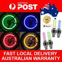 2pcs Bike Wheel Lights Red Green Blue Yellow Bicycle Safety Cycling Light