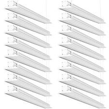 Sunco 16 Pack Flat LED Utility Shop Light 40W (300W) 5000K Daylight 4500 lm
