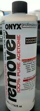 Onyx Professional 100% Acetone Nail Polish Remover 16oz