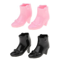 Fashion Doll Waterproof Shoes High Heels for Blythe Licca Doll Dress up Accs