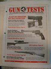 Gun Tests Magazine May 2001 Magazine .45 ACP Pistols Mosin Nagant 1944 Rifle .30