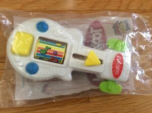 NIP Wendy's Hasbro Playskool Busy Guitar Kid's Meal 2004