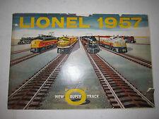 1957 LIONEL TRAIN CATALOG - LIONEL - COLLECTIBLE - BOX C