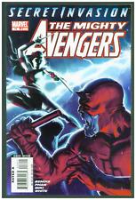 Mighty Avengers #16 VF/NM Marvel 2008 Daredevil Skrull Cover Secret Invasion