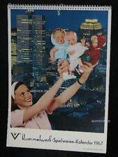 Goebel Hummel Kalender Calendar 1967, Spielwaren in aller Welt