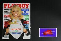 💎 PLAYBOY MAGAZINE:  AUG 2002 WOMEN OF ENRON HARRISON FORD XXX💎