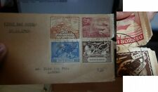 North Borneo 1949 UPU FDC four values, from Labuan (80beh)