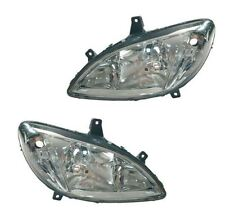 Mercedes Vito W639 2003-2010 Headlights Headlamps 1 Pair O/S And N/S
