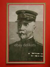 MARINA militare Ammiraglio Thaon di Revel Austria vecchia cartolina