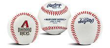 Arizona Diamondbacks Official MLB Team Logo Baseball by Rawlings 124109