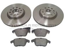 VW TIGUAN 1.4 + 2.0 TSi  2.0 TDi 2008-2015 FRONT 2 BRAKE DISCS AND PADS SET NEW