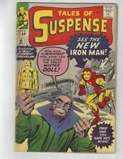Tales of Suspense #48/Silver Age Marvel Comic Book/1st Red & Yellow Costume/VG+