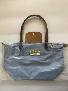 Longchamp Le Pliage 1899 Nylon Tote Bag - Large, Lilac Blue