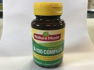 Nature Made B-100 Complex 60 tablets EXP 11/2020