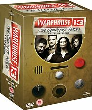 "WAREHOUSE 13 COMPLETE SERIES 1-5 COLLECTION DVD BOX SET 19 DISCS R4 ""NEW&SEALED"""