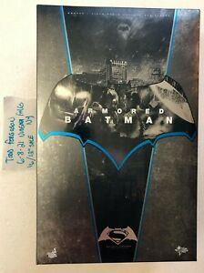 Hot Toys Batman Vs Superman Dawn of Justice Armored Batman Regular Vers. MMS349