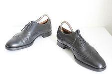 Crockett & Jones Budapester Schuhe Echtleder Schwarz Eu:40,5 made in England