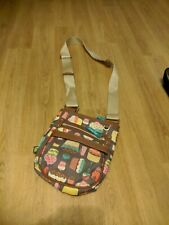 Lily Bloom Small Shoulder Bag with Cup  Cake Pattern