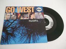 """GO WEST faithful 7"""" vinyl record GOW 9"""