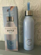 Root7 Chameleon Colour Changing Drinks Bottle Stainless Steel 600ml Blue BNIB