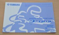 YAMAHA MT-07 MT07 MT07A Manual du Proprietaire Bedienungsanleitung Motor 2015