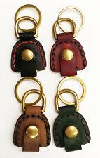 Espacio Handmade Pick Pocket Leather Guitar Pick Holder Case Keychain
