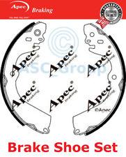 Apec Braking Replacement 230mm x 37mm Drum Brake Shoes Set SHU800