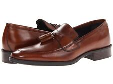 JOHNSTON AND MURPHY LARSEY  LEATHER LOAFERS SHOES 9/D NIB