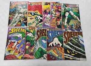 10x The SPECTRE Comic 1 2 3 4 5 6 7 8 9 10 ~ DC 1967 SILVER AGE Key SET ~ NICE!
