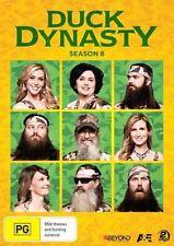 Duck Dynasty : Season 6 (DVD, 2014, 2-Disc Set) BRAND NEW REGION 4