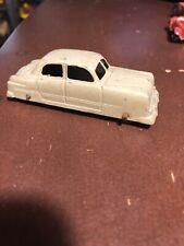 """Vintage 3"""" TootsieToy Toy Car Blue Sedan 1950's"""