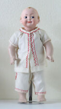 Googlie(Garçon)Hertel, Scwab & Co 42cm Poupée Ancienne Reproduction Antique doll